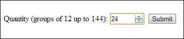HTML5 Numeric Input