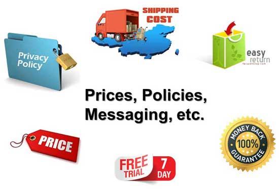 Sales & Marketing Policies