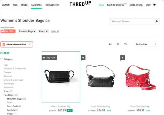 ThredUp website