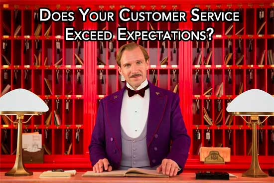 Does Your Customer Service Exceed Expectations?