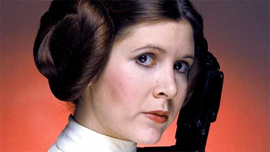 "Princess Leia's Hairstyles rarely followed ""Best Practices"""