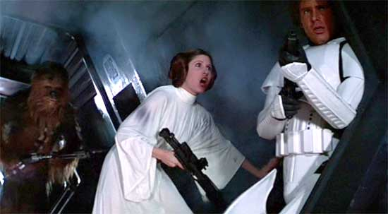 Princess Leia Is Not Afraid to Question Who Is In Charge