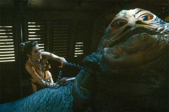 Princess Leia Kills Jabba The Hutt