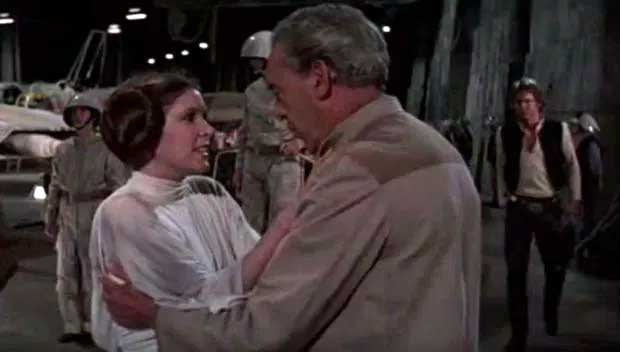 Princess Leia & General Willard