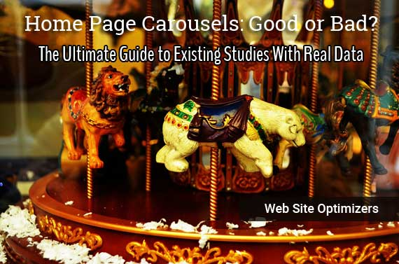 Home Page Carousels: Good or Bad? The Ultimage Guide to Existing Studies With Real Data